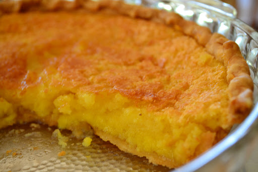 Mr. Larry's Chess Pie